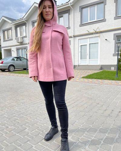 Пальто - розовое Albanto