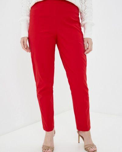 Красные зауженные брюки Sophia