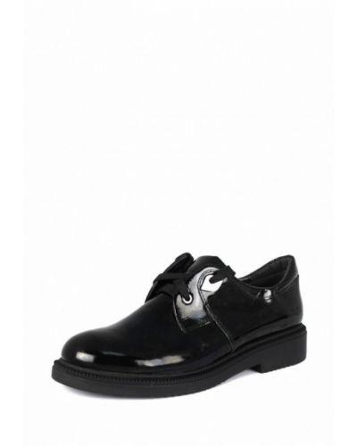 Кожаные ботинки осенние на каблуке Blizzarini