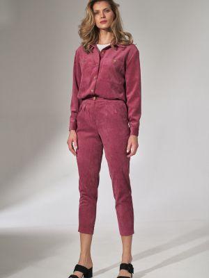 Klasyczna koszula - różowa Figl