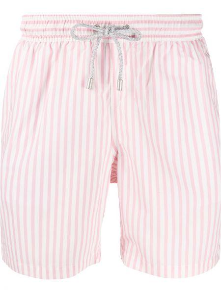 Różowe krótkie szorty z printem Bluemint
