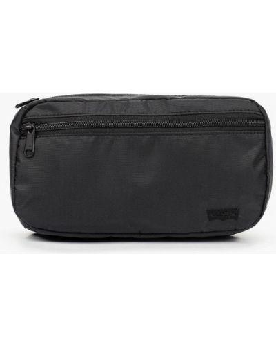 Текстильная поясная сумка - черная Levi's®