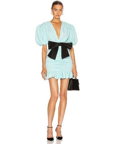 Niebieska sukienka mini Marianna Senchina