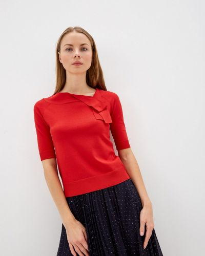 Блузка с коротким рукавом красная Max&co