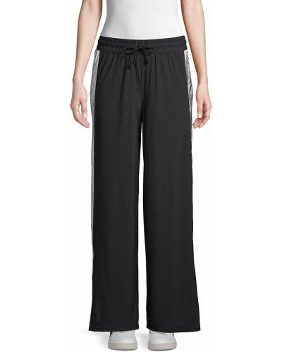 Повседневные черные брюки в полоску Koral Activewear
