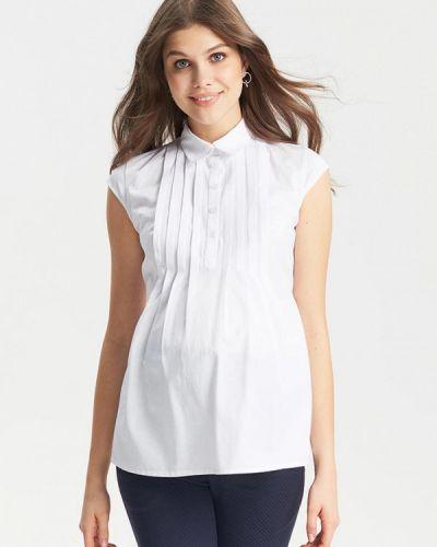 Блузка без рукавов белая Budumamoy