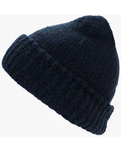 Синяя шапка осенняя Zarina