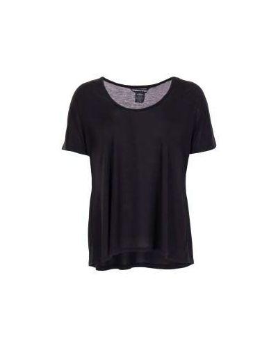 Черная хлопковая футболка Thomas Wylde