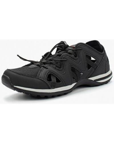 Черные кроссовки из искусственной кожи Strobbs