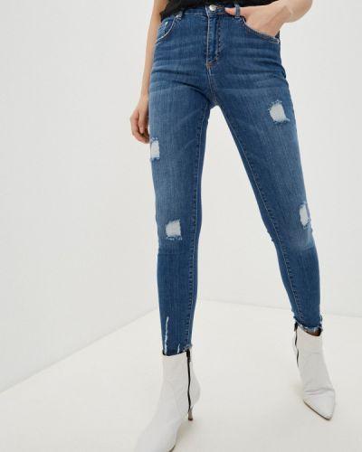 Синие джинсы-скинни узкого кроя Iceberg
