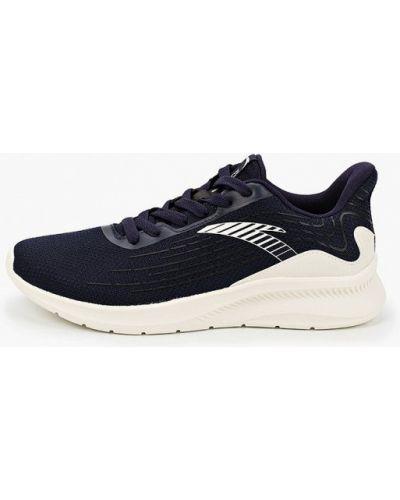 Текстильные синие кроссовки Anta