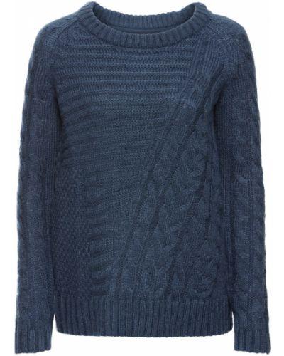 Вязаный свитер с узором Bonprix
