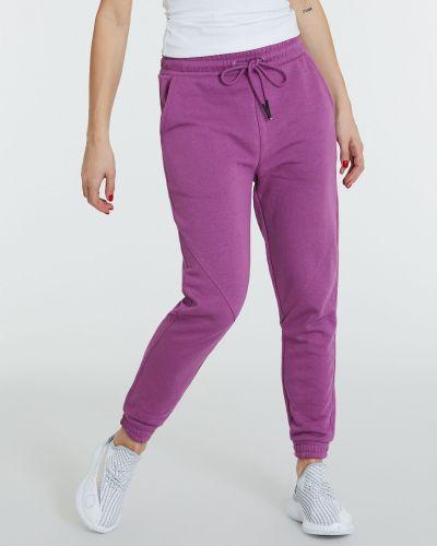 Фиолетовые спортивные брюки с аметистом Piazza Italia