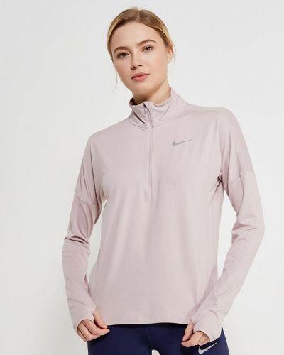 Розовый спортивный лонгслив Nike