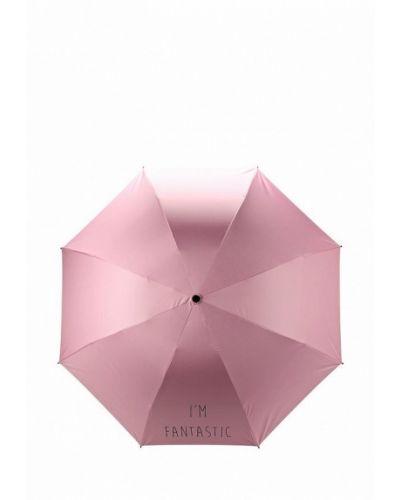 Розовый зонт складной Befree