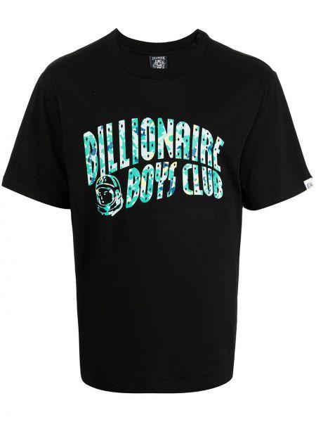 Лонгслив с принтом - черная Billionaire Boys Club
