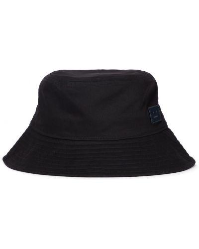 Хлопковая шапка - черная Acne Studios