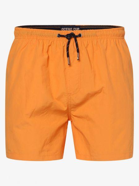 Pomarańczowe szorty Ocean Cup