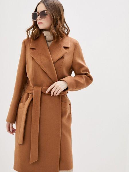 Коричневое пальто с капюшоном Vivaldi