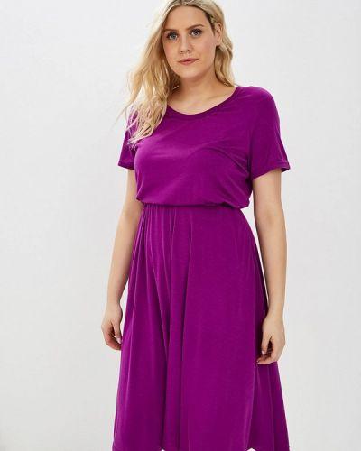 Повседневное платье весеннее фиолетовый Svesta