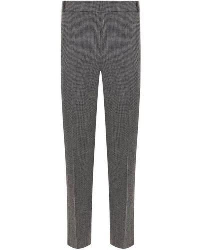 Укороченные брюки со стрелками шерстяные Weill