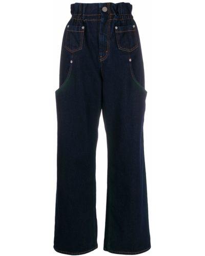 Пляжные джинсы с высокой посадкой с карманами Artica Arbox