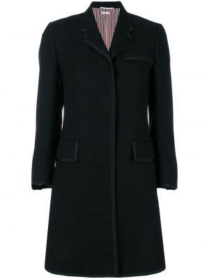 Klasyczny płaszcz zimowy z kołnierzem Thom Browne