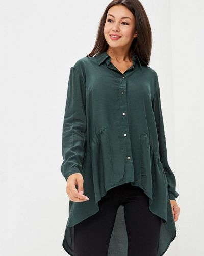 Зеленая блузка с длинным рукавом Vis-a-vis