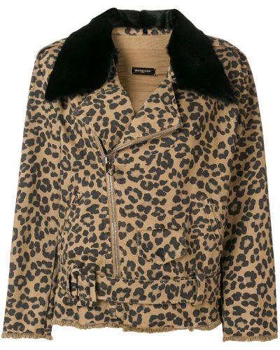 Джинсовая куртка на молнии Simonetta Ravizza