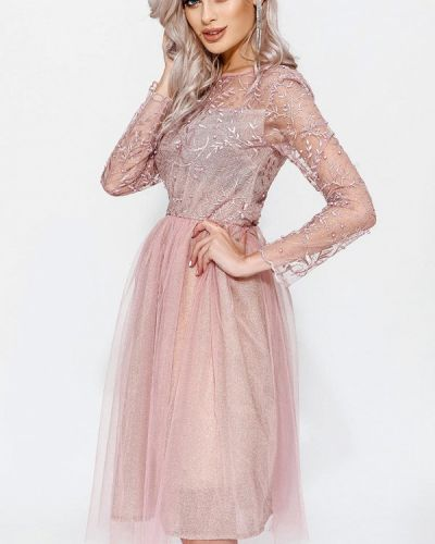 Вечернее платье - розовое Gepur