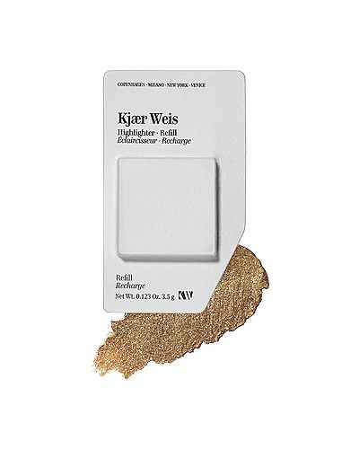 Хайлайтер для лица с пальцами бронзовый Kjaer Weis