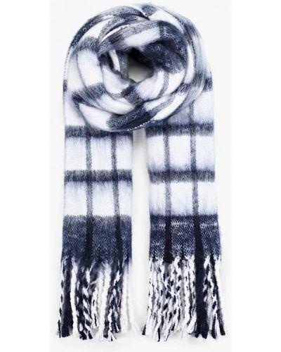 Синий шарф осенний Befree