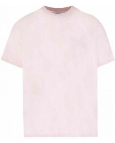 T-shirt - różowa Burberry