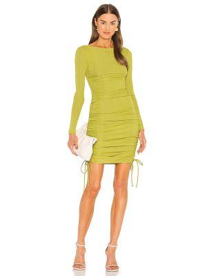 Żółta sukienka prążkowana Camila Coelho