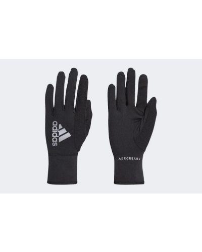 Rękawiczki do biegania - czarne Adidas
