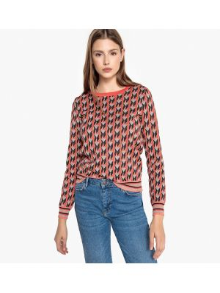 Пуловер на пуговицах длинный Suncoo