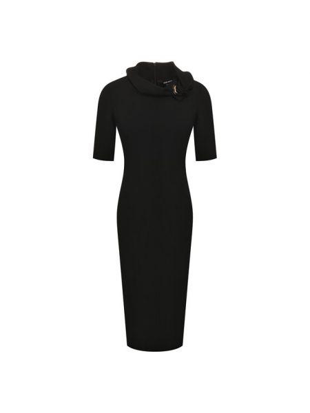 Платье шерстяное Giorgio Armani