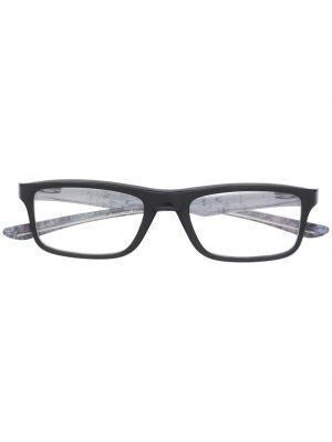 Оправа для очков прозрачные - черные Oakley