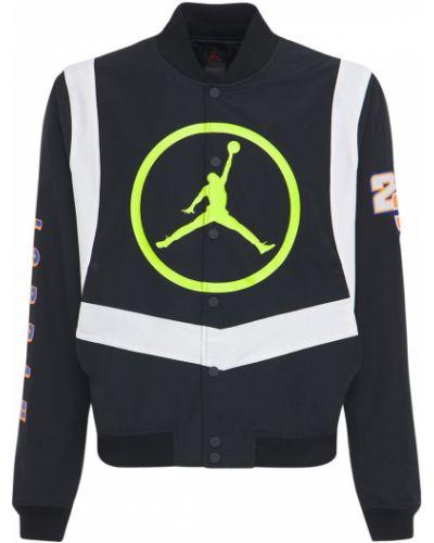 Спортивная бомбер - черная Nike