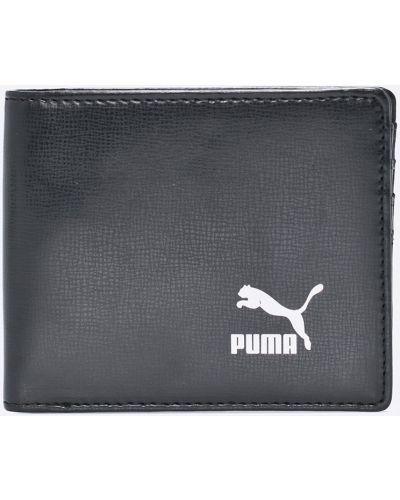 Кошелек кожаный черный Puma