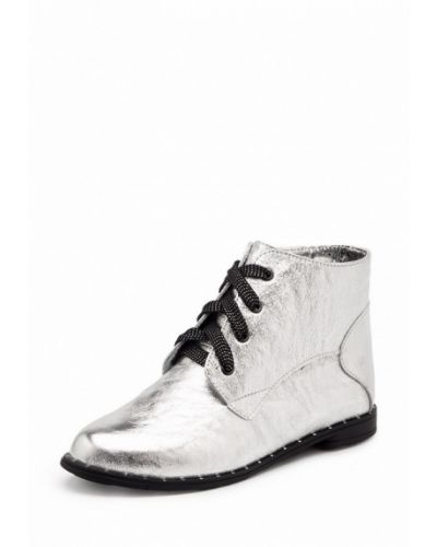 Кожаные ботинки на каблуке Tops