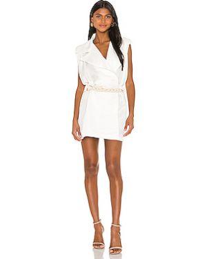 Облегающее платье с запахом повседневное Piece Of White