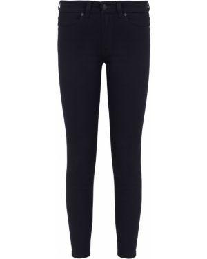 Укороченные зауженные джинсы - синие Hugo Boss