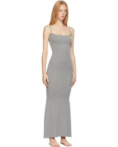 Sukienka długa bez rękawów Skims