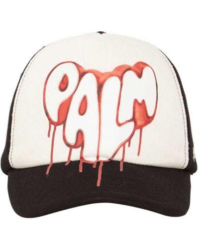 Biała czapka z siateczką Palm Angels