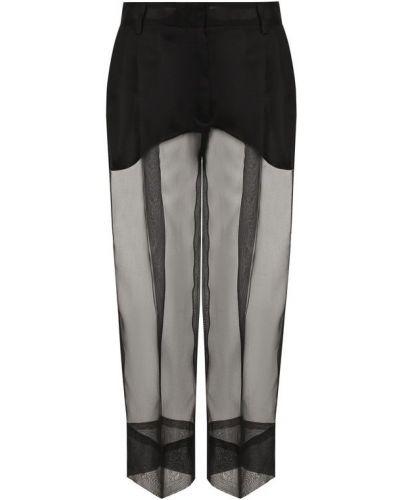 Укороченные брюки прозрачные Dolce & Gabbana