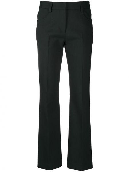 Зауженные брюки - зеленые See By Chloé