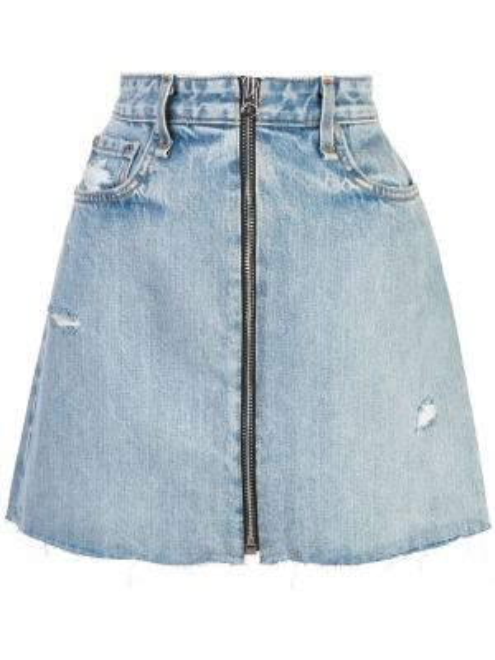 Джинсовая юбка мини Rag & Bone/jean