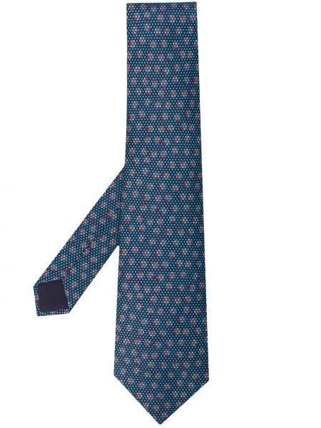 Jedwab klasyczny krawat Hermes