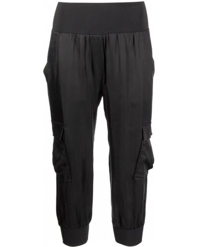 Черные укороченные брюки Cinq À Sept